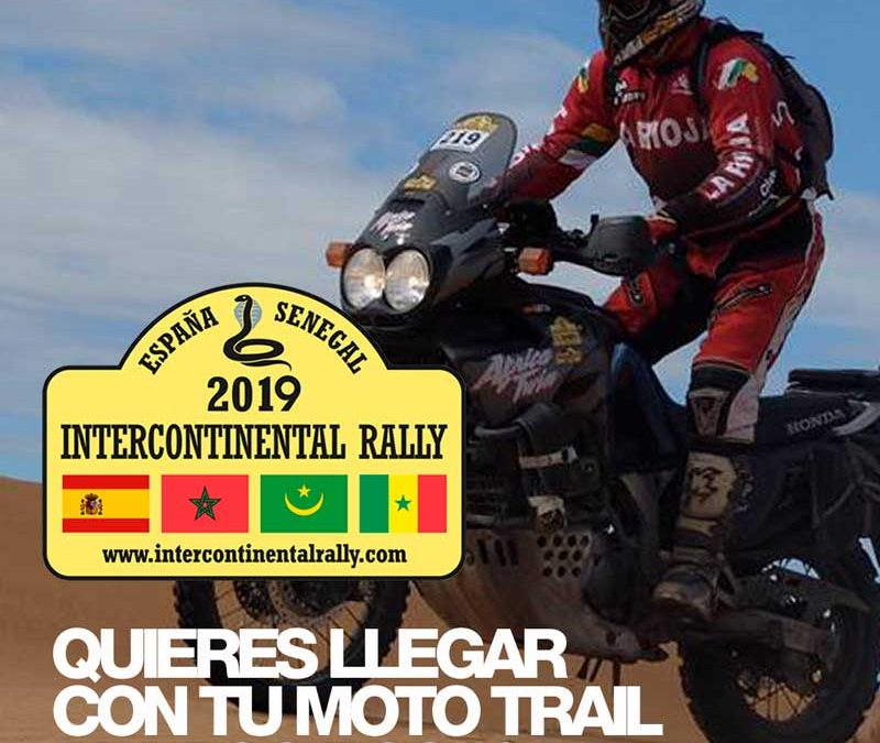 Come to Dakar with your trail bike